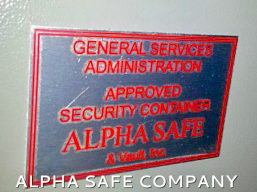 GSA Tech, GSA Locksmith, Government Safe Technician