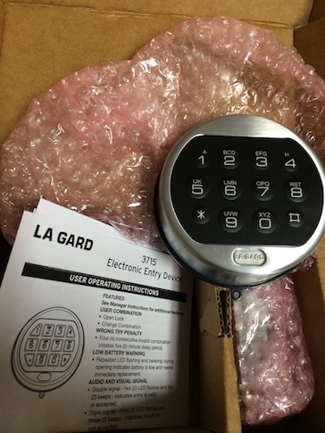 New Safe Lock, Unlock Safe, Replace Safe Lock, Drill Safe, Keypad Lock for Safe