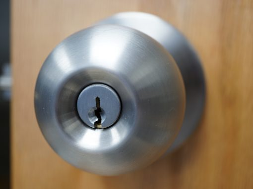 Door Lock installed by a Locksmith Pittsburgh