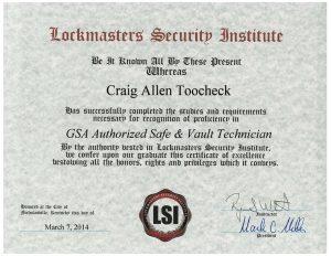 GSA-Authorized-Safe-Vault-Technician-Craig-Toocheck