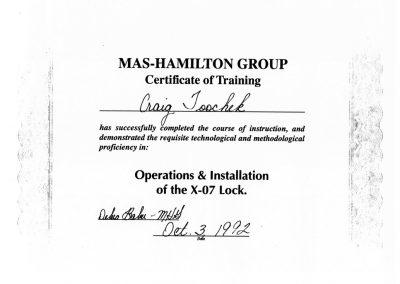 Kaba Mas Certified