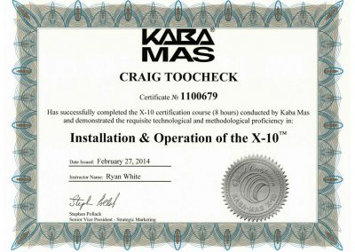X10 Safe Lock Certified