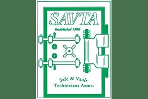 (SAVTA) Safe and Vault Technicians Association logo